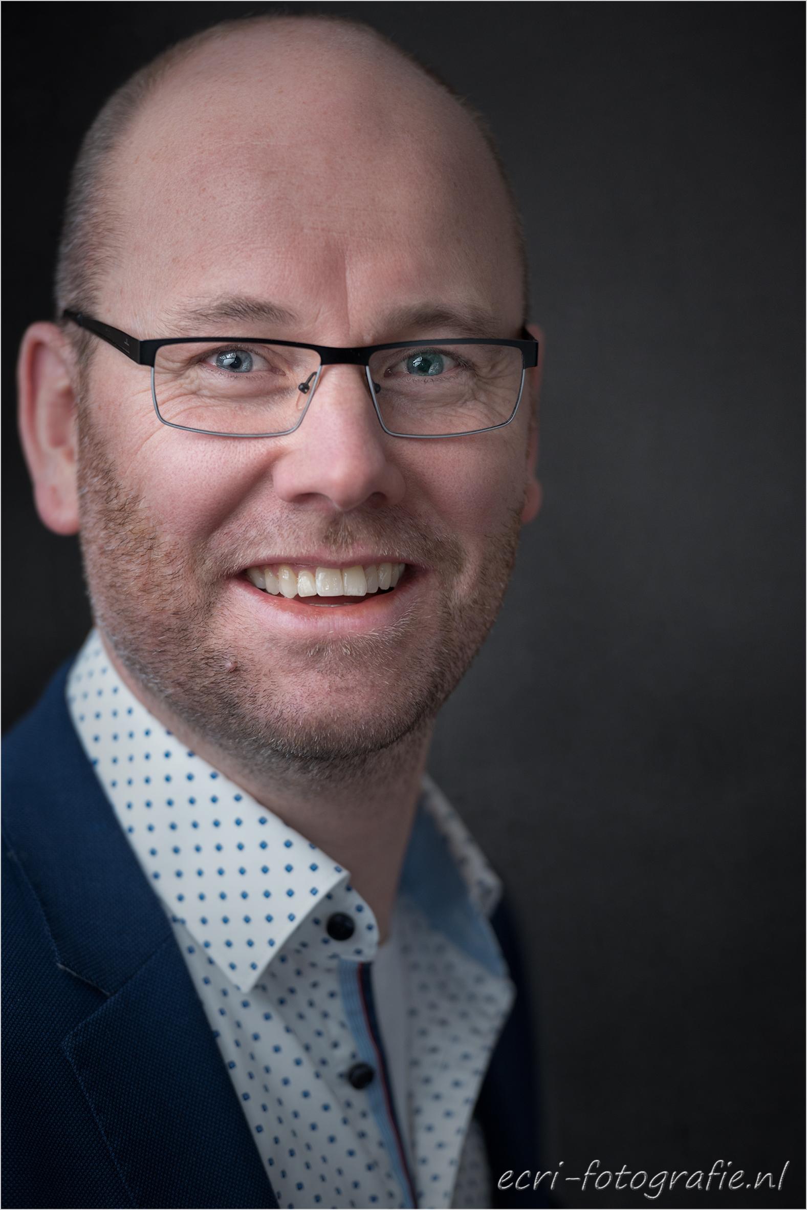 headshot, zakelijk portret, Rabobank, LinkedIn, ecri-fotografie.nl, Eric de Jonge
